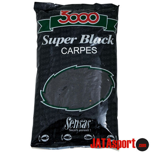 ENGODO SENSAS 3000 SUPER BLACK CARPES