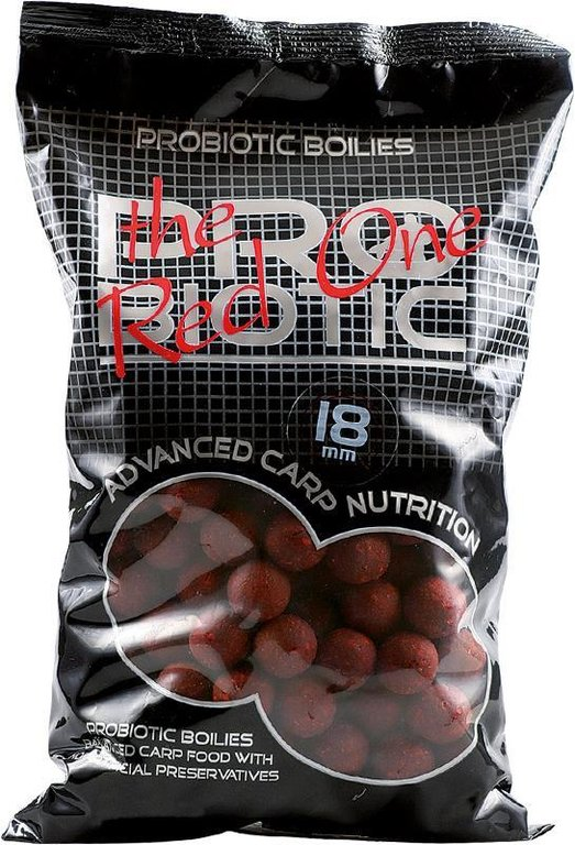 """Starbaits Probiotic /""""The Red One/"""" 14mm 1kg Boilie Boilies"""