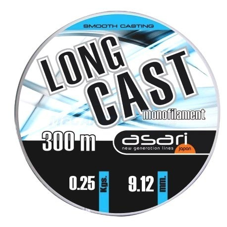 NYLON ASARI LONG CAST 300 mts.