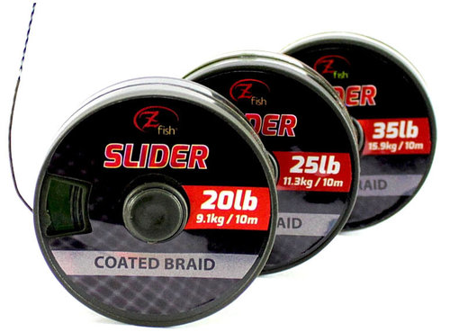 TRESSE SLIDER COATED BRAID 10 mts.