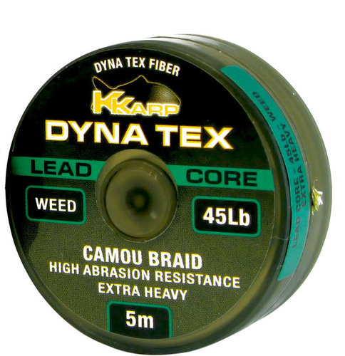 DYNA TEX KKARP LEAD CORE 5 mts.