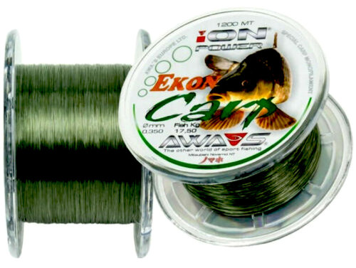 NYLON  AWA-SHIMA ION POWER EKON CARP 1200 mts.